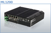 ML1200 DIN Rail Mountable Managed Switches