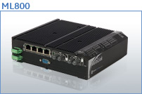 ML800 DIN Rail Mountable Managed Switches