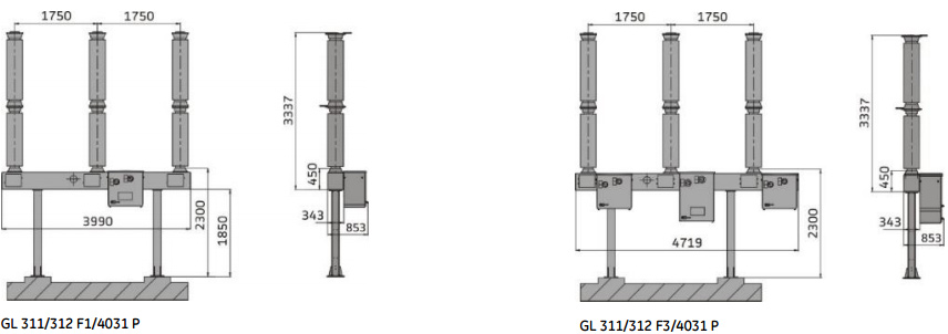 Gl 310 Gl 311 And Gl 312 Live Tank Circuit Breaker From
