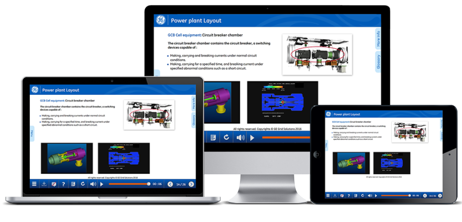 HV online technical training – GE Grid Solutions