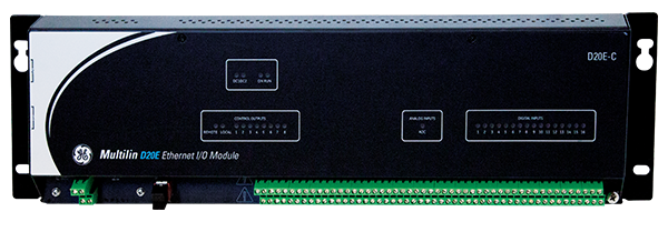 Multilin D20E Ethernet I/O Module