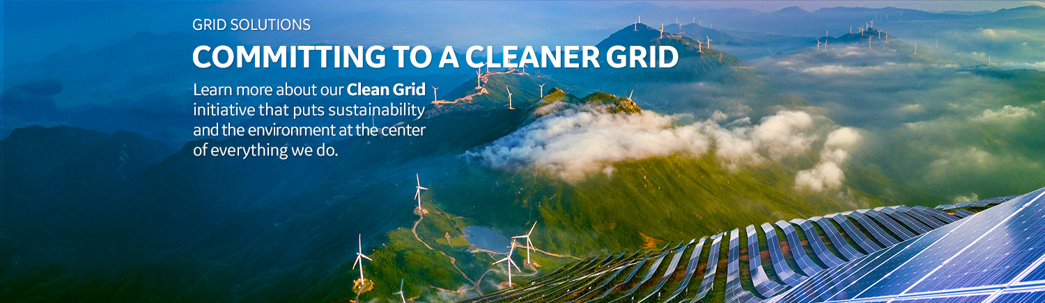 Clean Grid: Our Clean Grid initiative puts sustainability and the environment at the center of everything we do. Learn more about our commitments to carbon neutrality.