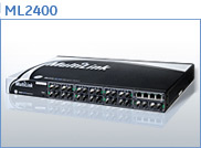 ML2400 Mountable Managed Switches