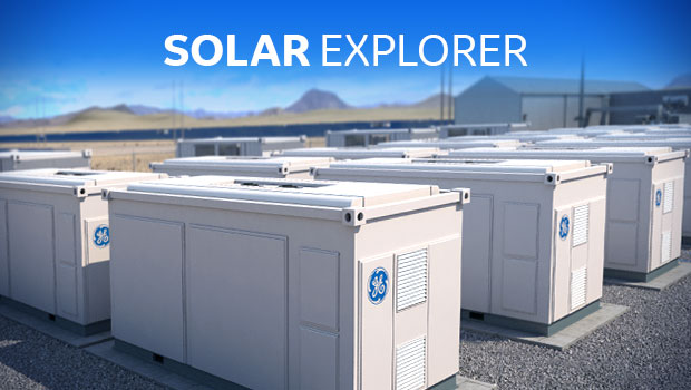 The Solar Explorer provides an engaging look at the challenges of utility-scale solar implementations, and GE's full system solutions that reduce the levelized cost of energy