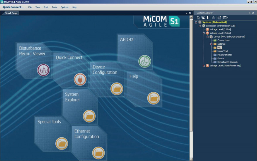 MiCOM agile S1