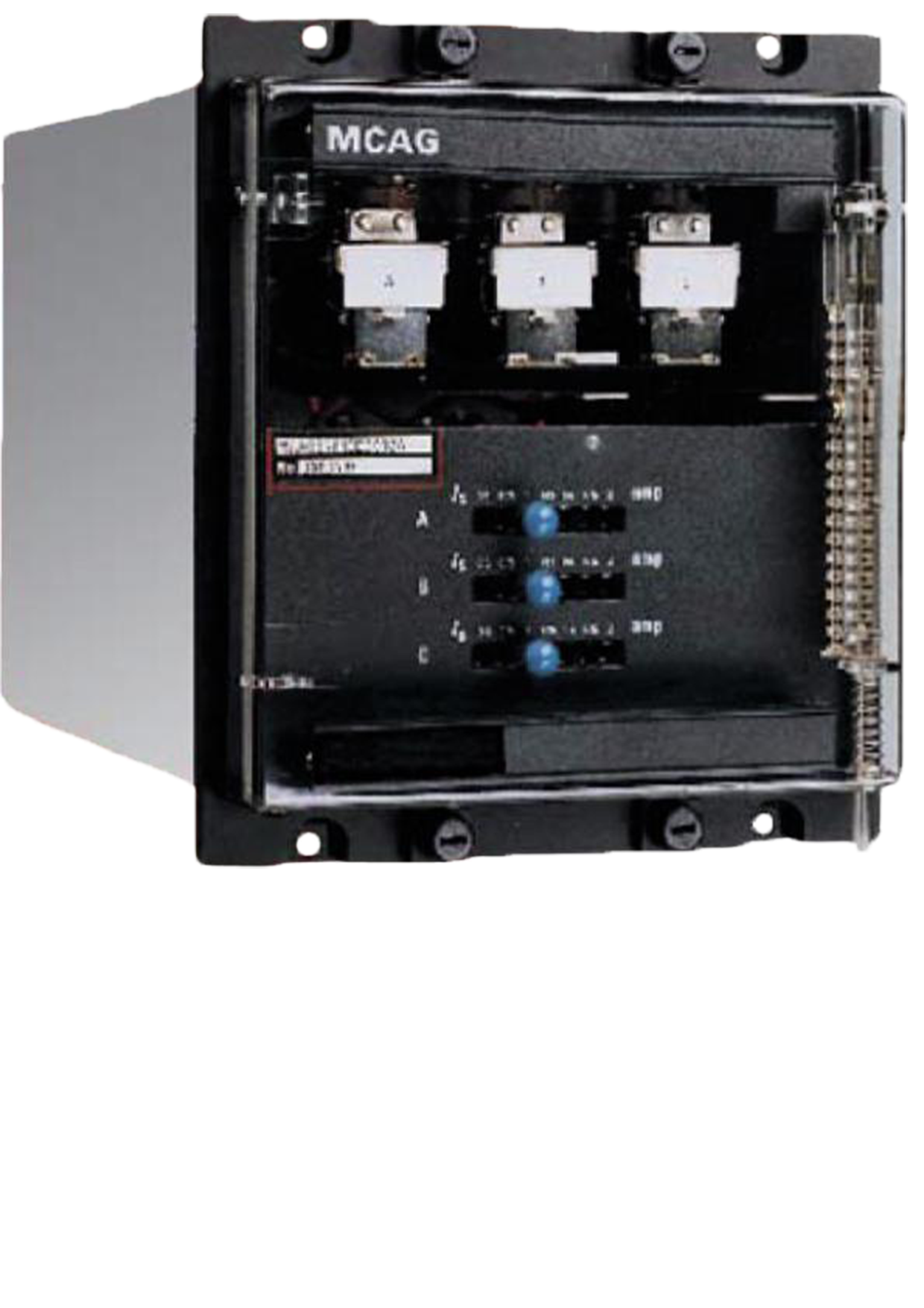 Protection Control Bus Ge Grid Solutions Transformer Wiring Diagram Mcag High Impedance Differential Relay Relays Provide Speed For Various Types Of Power System Plants Including