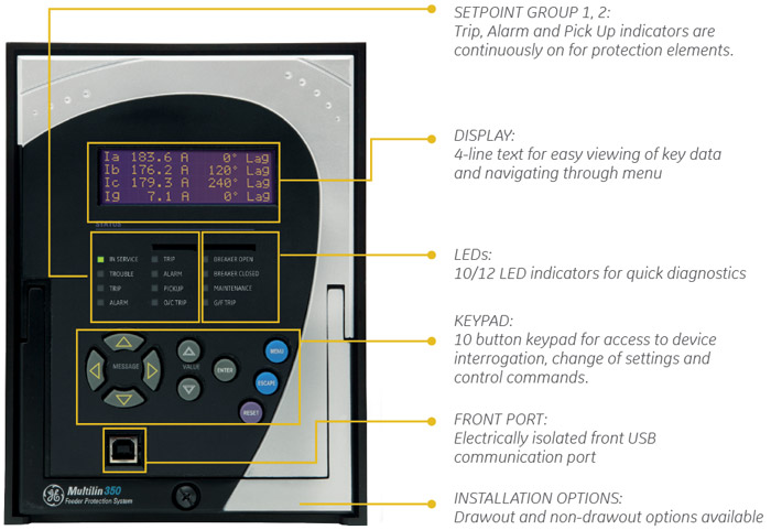 350 user interface feeder protection multilin 469 wiring diagram at bayanpartner.co