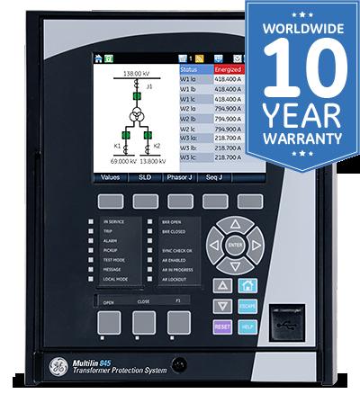 845 transformer protection system rh gegridsolutions com GE Multilin 469 Manual GE Multilin SR750 Manual