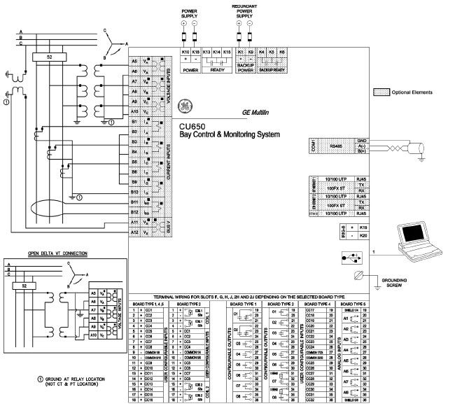 substation wiring diagram substation image wiring c650 bay control monitoring system on substation wiring diagram
