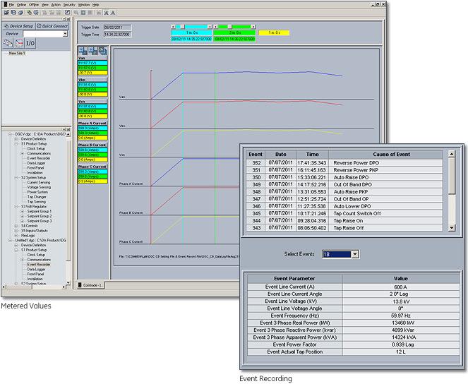 Multilin Voltage Regulator Controller