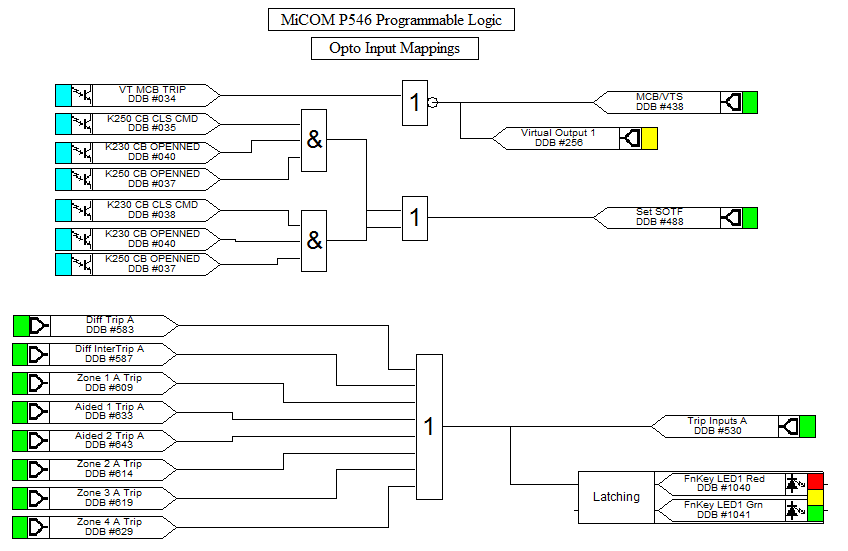 wiring diagram for lockout relay