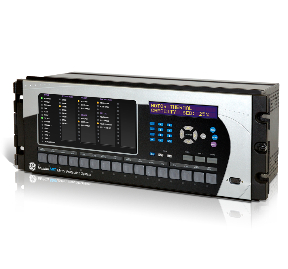 GE Multilin: M60 Motor Protection System Press Kit